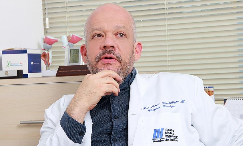 Urólogo en Cali Dr Francisco Usubillaga